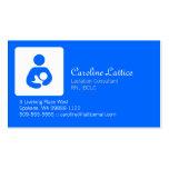 Consultor de la lactancia tarjetas personales