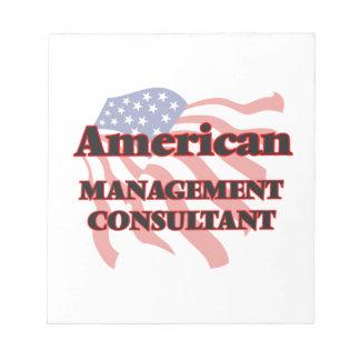 Consultor en administración de empresas americano blocs