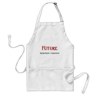 Consultor futuro del reclutamiento delantales