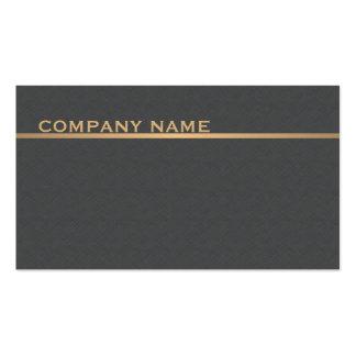 Consultor gris del oro de la textura elegante tarjetas de visita