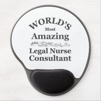 Consultor legal asombroso de la enfermera alfombrillas de raton con gel