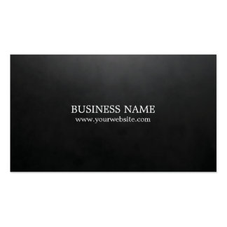 Consultor negro texturizado elegante minimalista tarjetas de visita