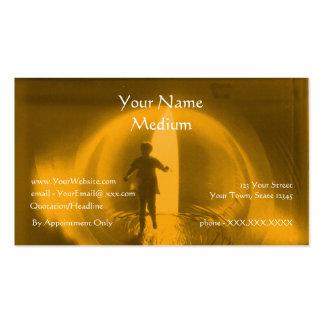 Consultor psíquico - plantilla de la tarjeta de tarjetas de visita