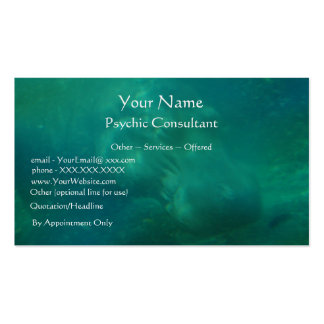 Consultor psíquico - plantilla de la tarjeta de vi tarjetas de visita