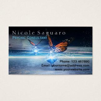 Consultor psíquico tarjetas de visita