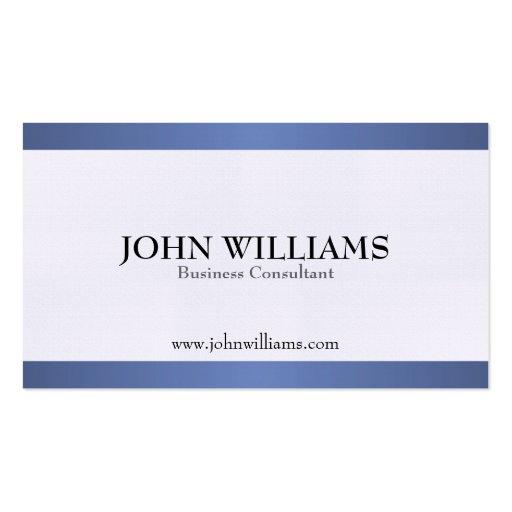 Consultor - tarjetas de visita