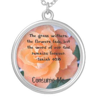 Consuma el collar del 40:8 de Isaías