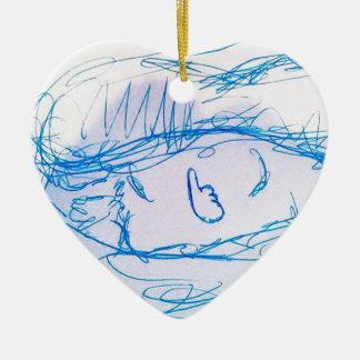 Consuma los similares adorno navideño de cerámica en forma de corazón