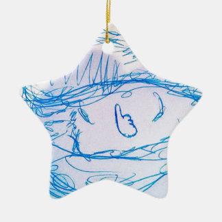 Consuma los similares adorno navideño de cerámica en forma de estrella