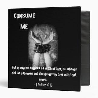 Consume 1 Peter 4:16 Binder