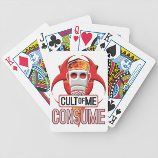 CONSUME Cult of Me Playing Cards