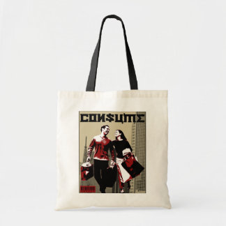 CONSUME Tote Bag by IRATE