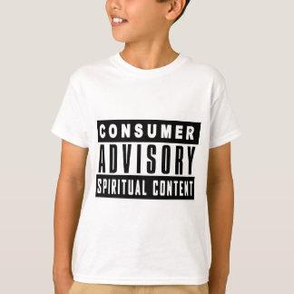 Consumer Advisory - Spiritual Content T-Shirt
