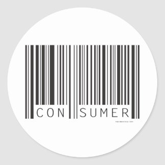 Consumer Classic Round Sticker