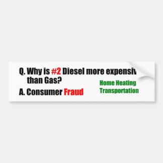 Consumer Fraud Bumper Sticker