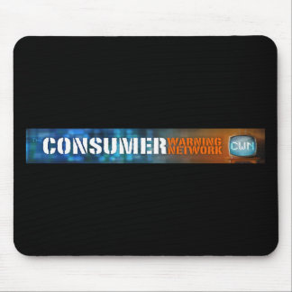 CONSUMER WARNING NETWORK MOUSE PAD