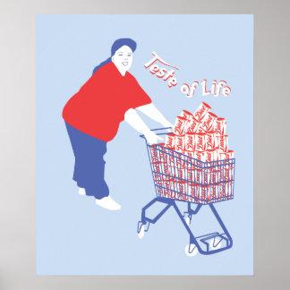 consumerism poster