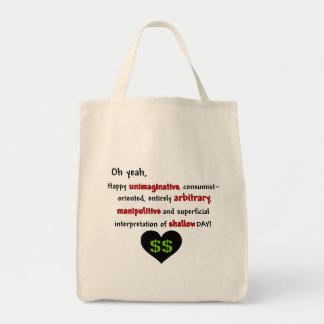 Consumerist Anti-Valentine Grocery Tote Bag