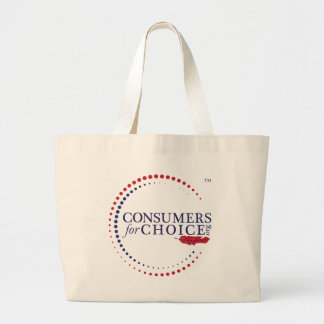 Consumers For Choice Jumbo Tote Bag