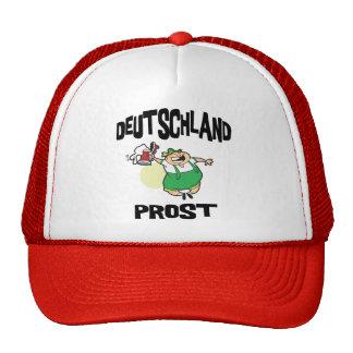 Consumición alemana gorros bordados
