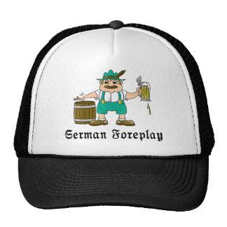 Consumición alemana gorro de camionero