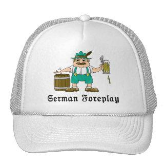 Consumición alemana gorras de camionero