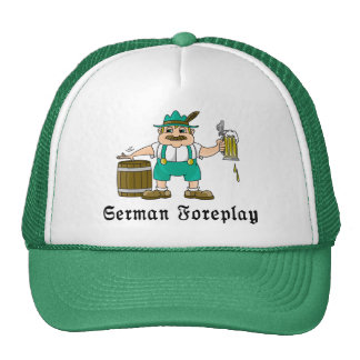 Consumición alemana gorras
