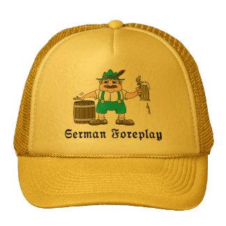 Consumición alemana gorra