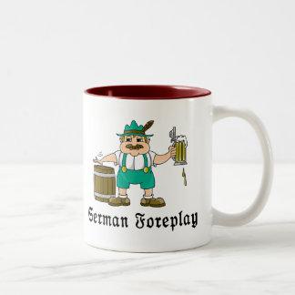 Consumición alemana tazas de café