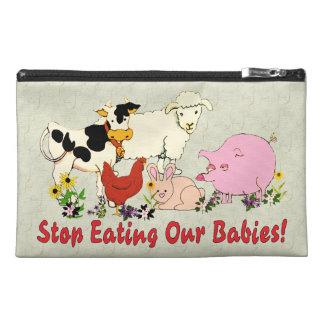Consumición de los bebés animales