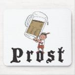 Consumición del alemán de Prost Tapetes De Ratón