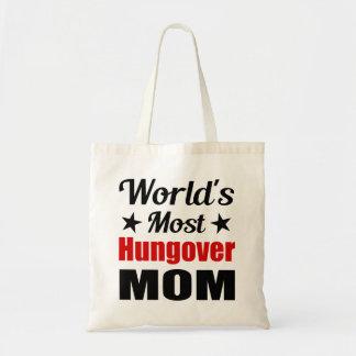 Consumición divertida de la mamá más hungover del bolsa tela barata