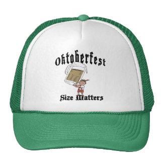 Consumición divertida de Oktoberfest Gorros