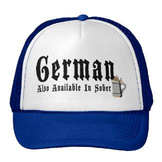 Consumición divertida del alemán gorros bordados