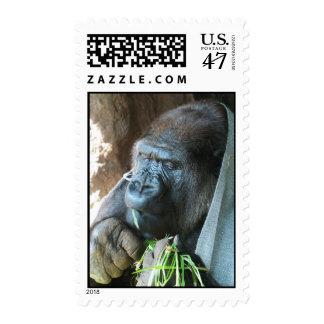 Consumición japonesa del gorila del ~ de la timbres postales