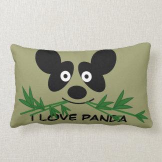 Consumición linda Pilllow de bambú de la panda Cojín