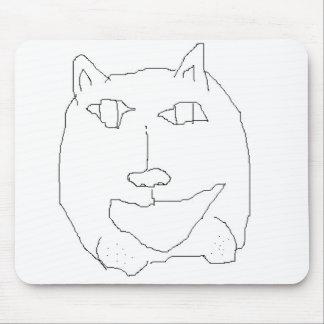 Consumición Mousepad del gato Tapetes De Ratón