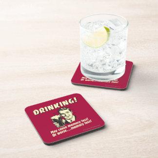 Consumición: Puede causar la pérdida de memoria pe Posavasos De Bebidas
