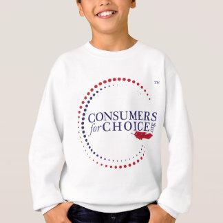 Consumidores para la opción sudadera
