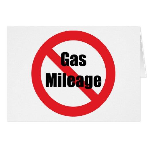Consumo de combustible tarjeton