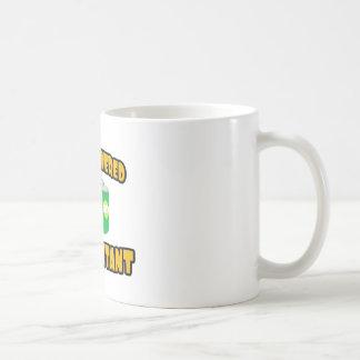 Contable Cerveza-Accionado Taza De Café