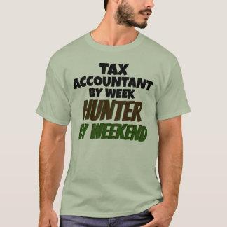 Contable del impuesto del cazador de la semana por playera