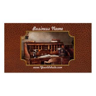 Contable - empresa de contabilidad tarjeta de visita