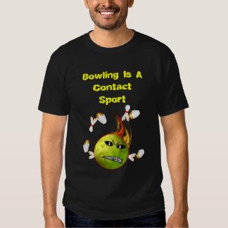 Contact Bowling Shirts