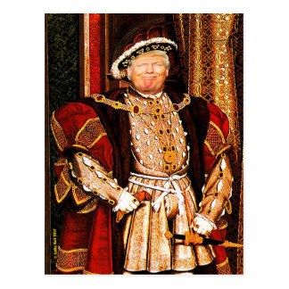 Contact Donald J. Trump HUGE postcard