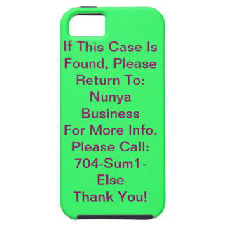 Contact Me Not Case iPhone 5 Covers