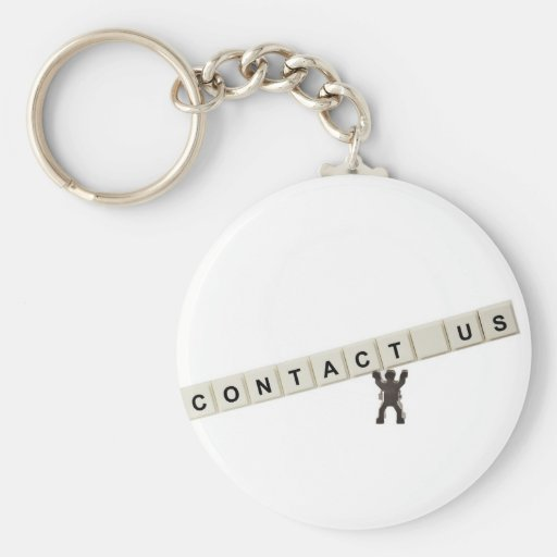 Contact Us Keychains
