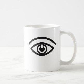 Contacto visual taza clásica