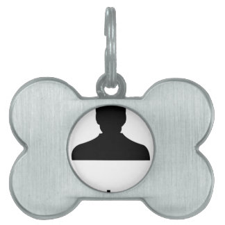 contacts pet name tag