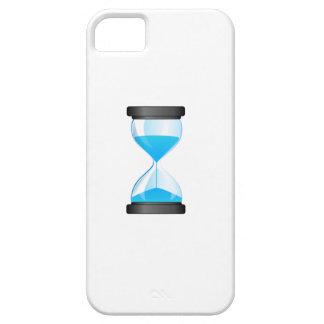 Contador de tiempo de la arena del reloj de arena iPhone 5 cárcasa